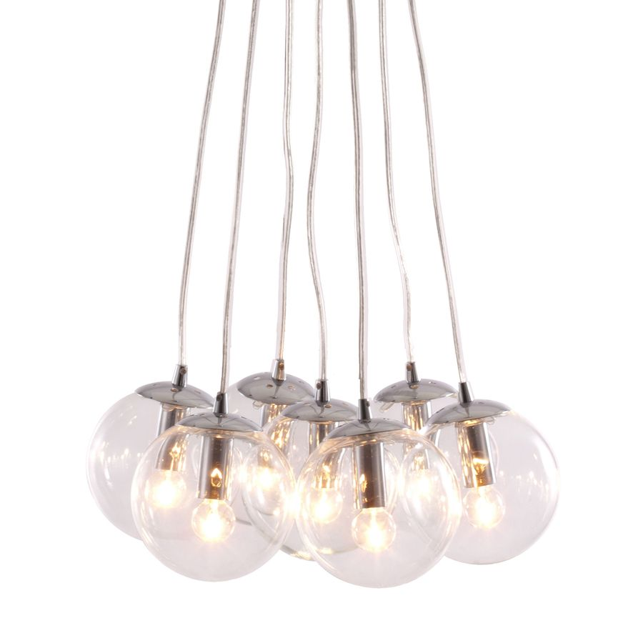 Pendant Lights At Lowes Shop Zuo Modern 3938In Decadence Clear Multipendant Light At