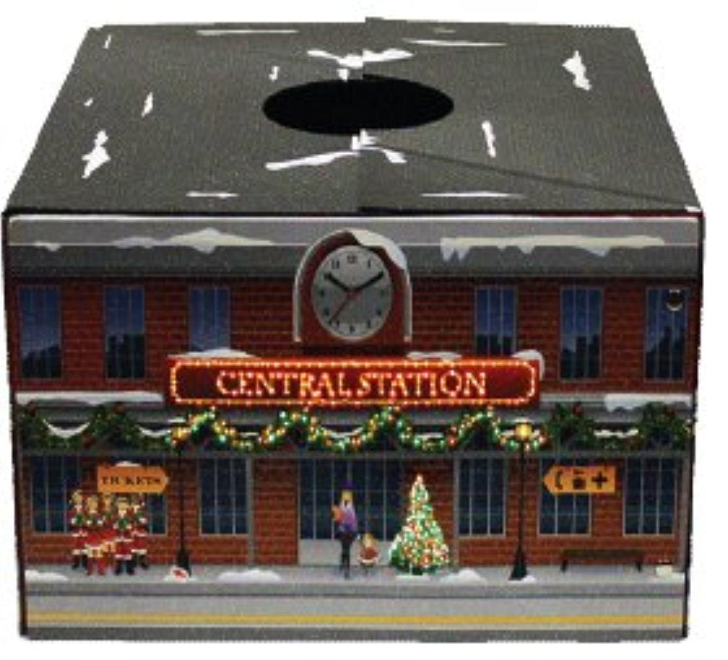 The Original Christmas Tree Box Tree Stand Cover  Led