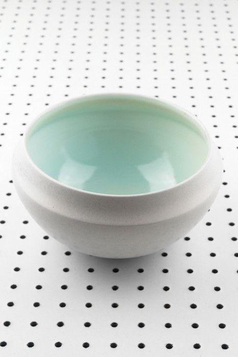 Churchill Ceramics Wide Mouth Vase