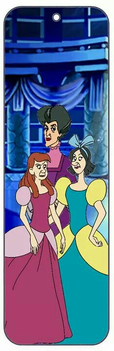 Bookmark Lady Tremaine and daughters