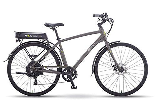 Izip E3 Path 24 Volt Lithium Ion Electric Bicycle Grey Men S Currie Tech Electric Bicycle Bicycle Electric Bike