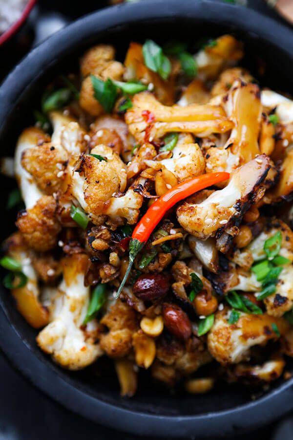 Kung Pao Cauliflower Recipe Epic Deliciousness Pinterest