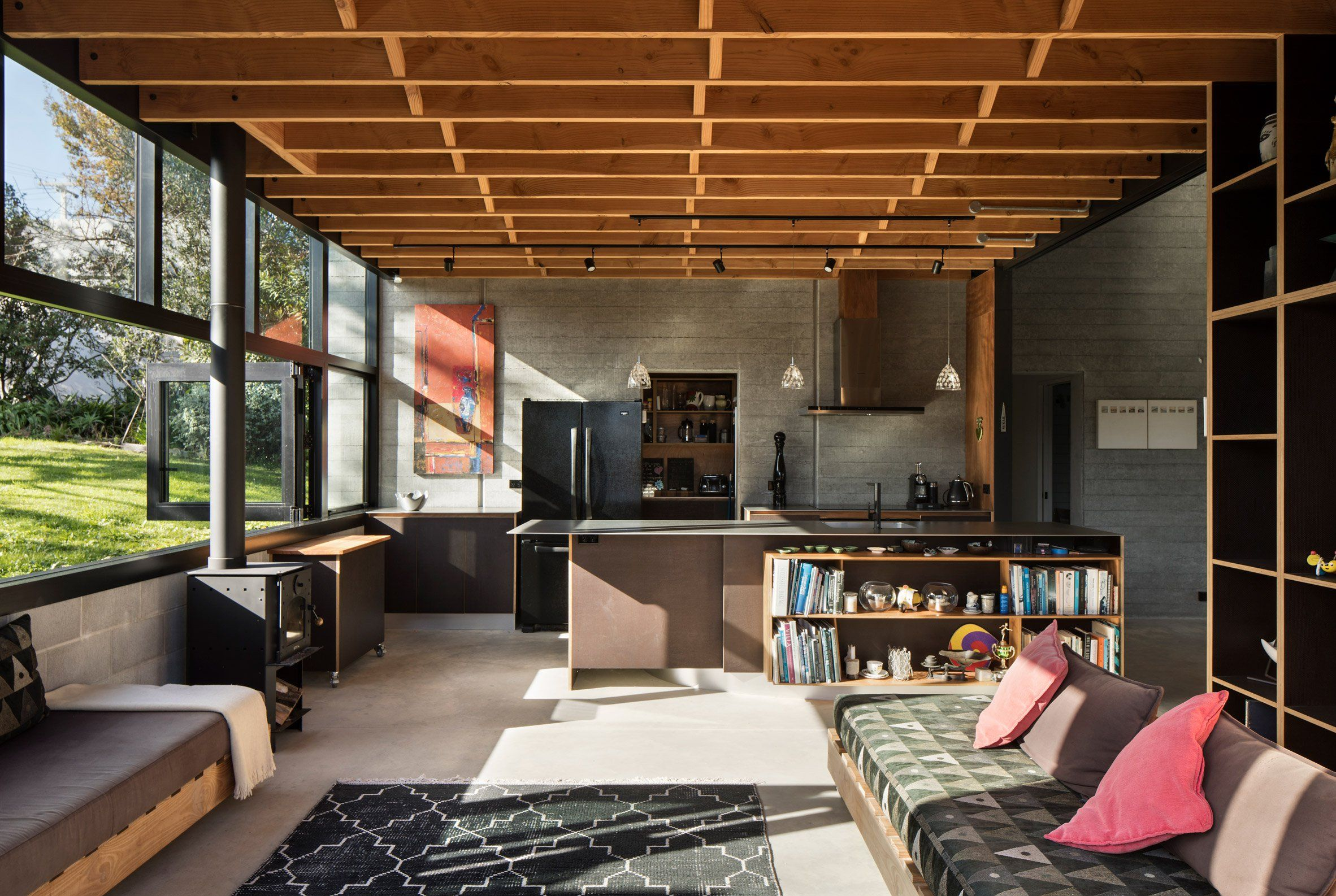 The Concept For The House Was To Create A Central Grand Space
