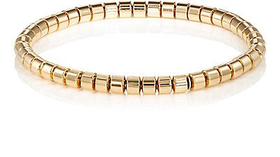 Sidney Garber Yellow Gold Tubular Link Bracelet Bracelets And Gold