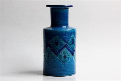 Hand Built Midcentury Vase Bitossi By 1001Vintage On Etsy on nuji.com