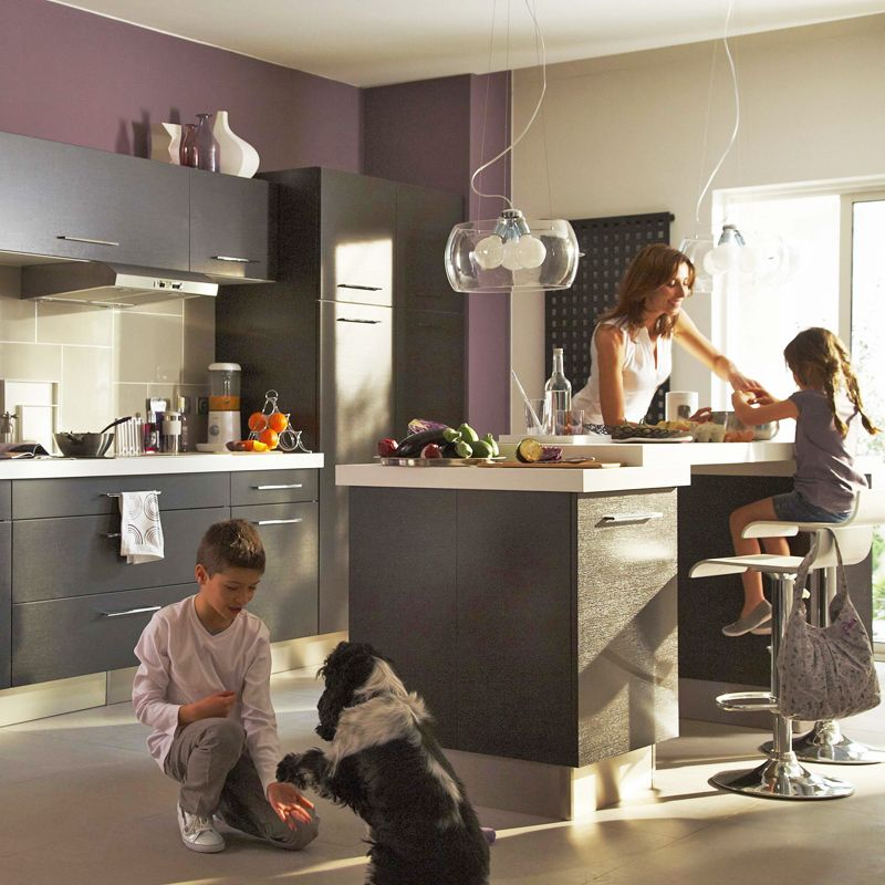6 raisons de choisir une cuisine ouverte sur le salon | Cuisine ...