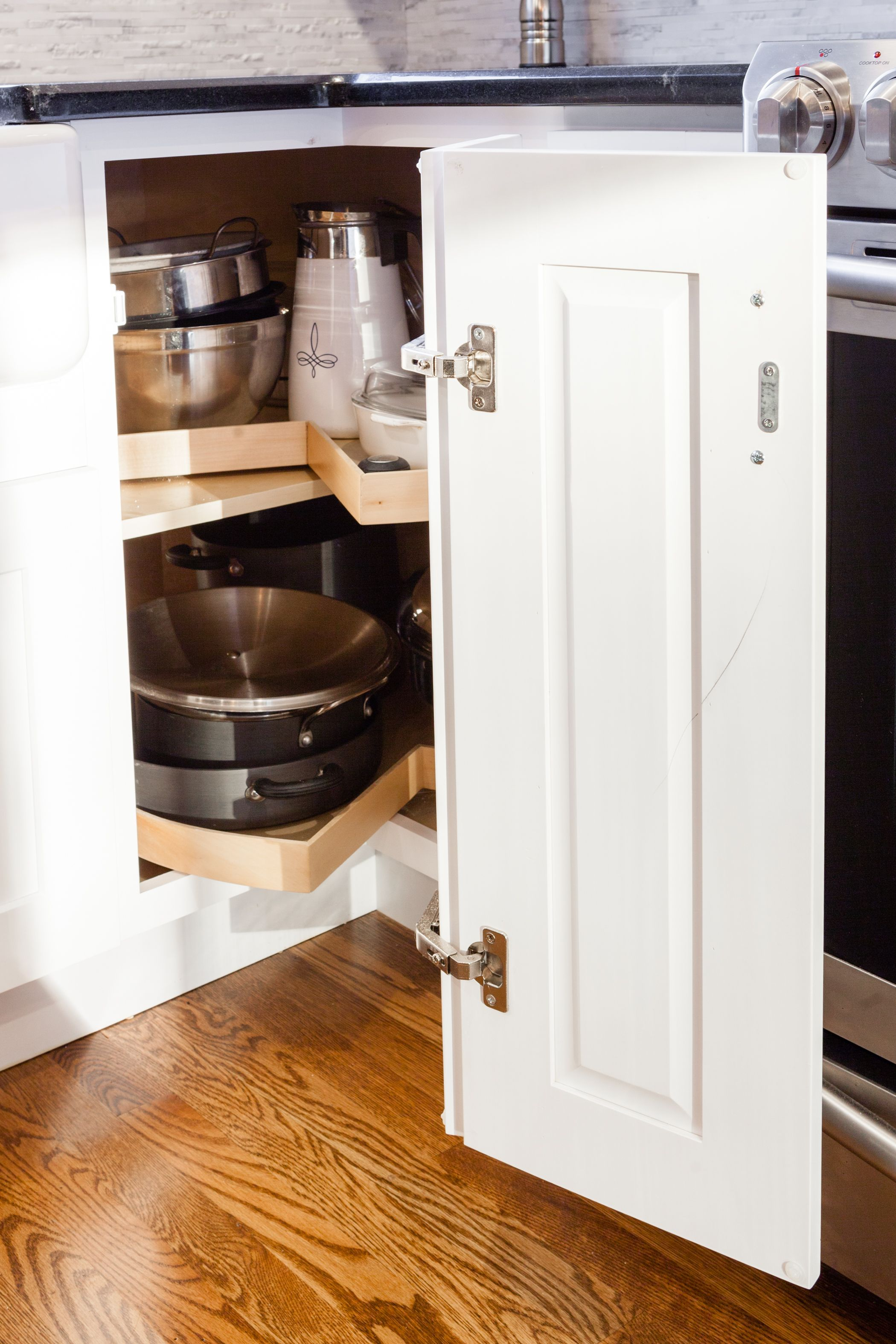 J&K White Maple Cabinets. Style S8 | White shaker kitchen ...