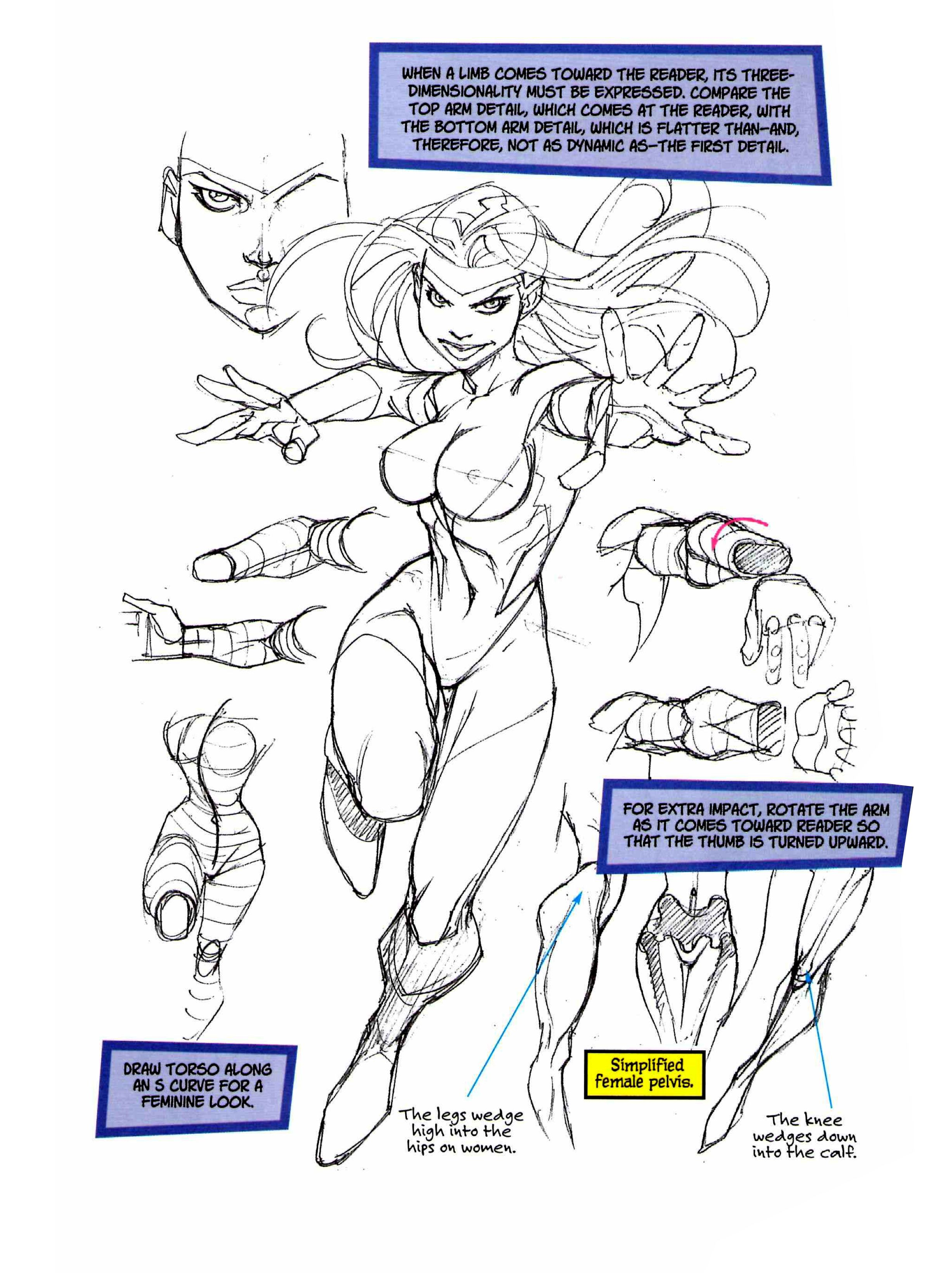 Roger Cruz - Drawing Cutting Edge Fusion | HOW TO COMIC BOOK STUFF ...