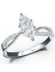 Marquee wedding rings