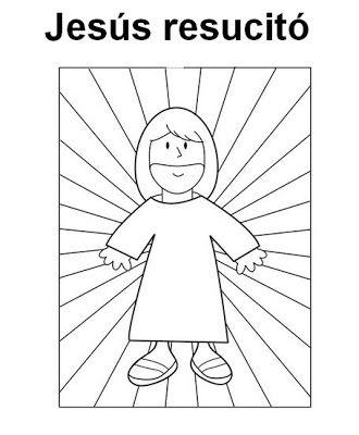 Colorear Dibujos Pascua Infantil Semana Santa Ninos Manualidades De La Biblia Para Ninos Jesus Para Colorear