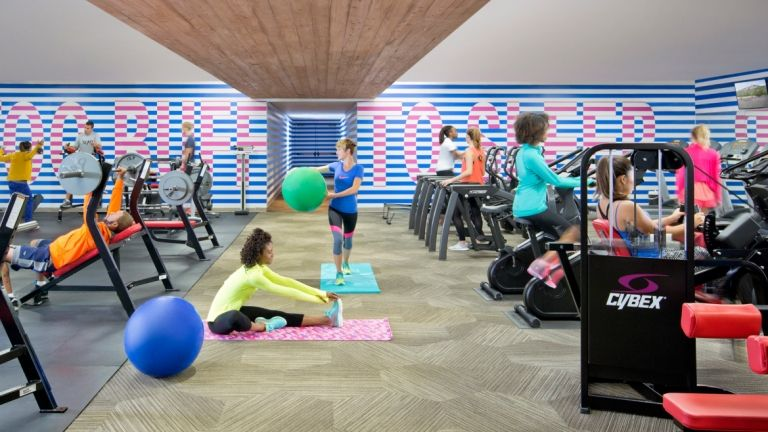 Fitness and recreation scad ball exercises fitness gym