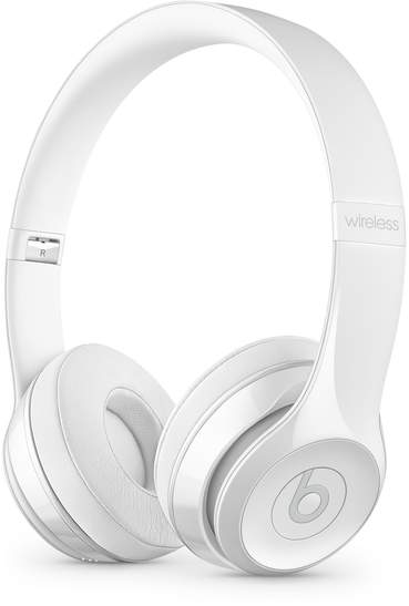 Beats Solo3 Wireless On-Ear Headphones Gloss White