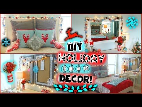 Beautiful DIY Holiday / Winter Room Decor + Easy Ways To Decorate For Christmas!! ❆