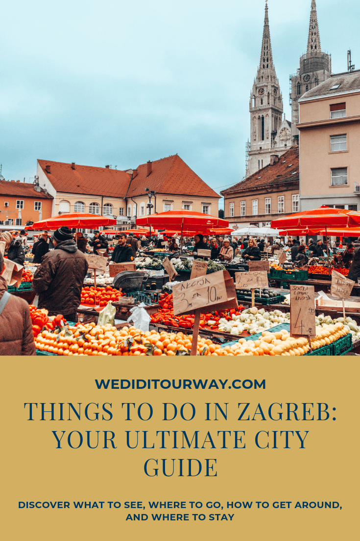 The Top 14 Zagreb Attractions And Best Things To Do In 2 Days In November In 2020 Zagreb Cool Places To Visit Zagreb Croatia