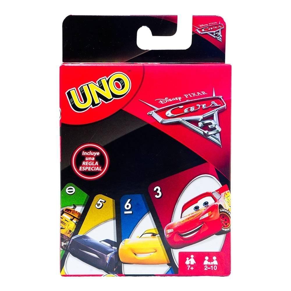 Juego De Mesa Uno Cars 3 Walmart