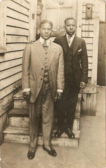 Old Old School Dapper With Images Black History Vintage