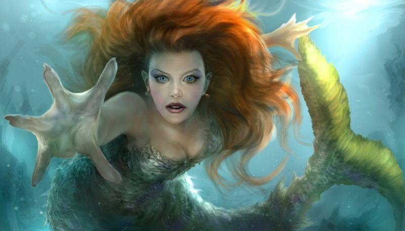 Fondos De Pantalla De Sirenas Hermosas, Wallpapers HD