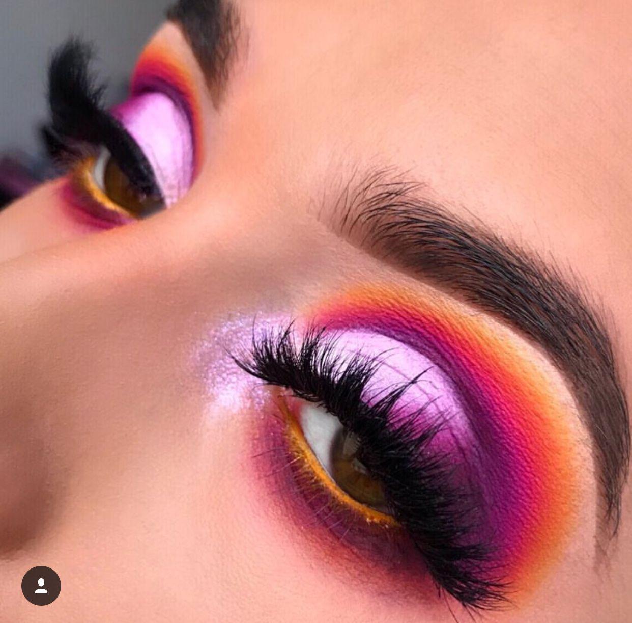 Peacock Inspired Dramatic Eye Makeup Ideas Peacock Eye Makeup