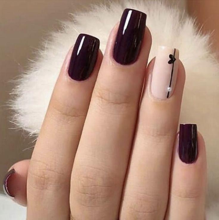 Resultado de imagen para uñas decoradas frances – #de #decoradas #frances #imag…