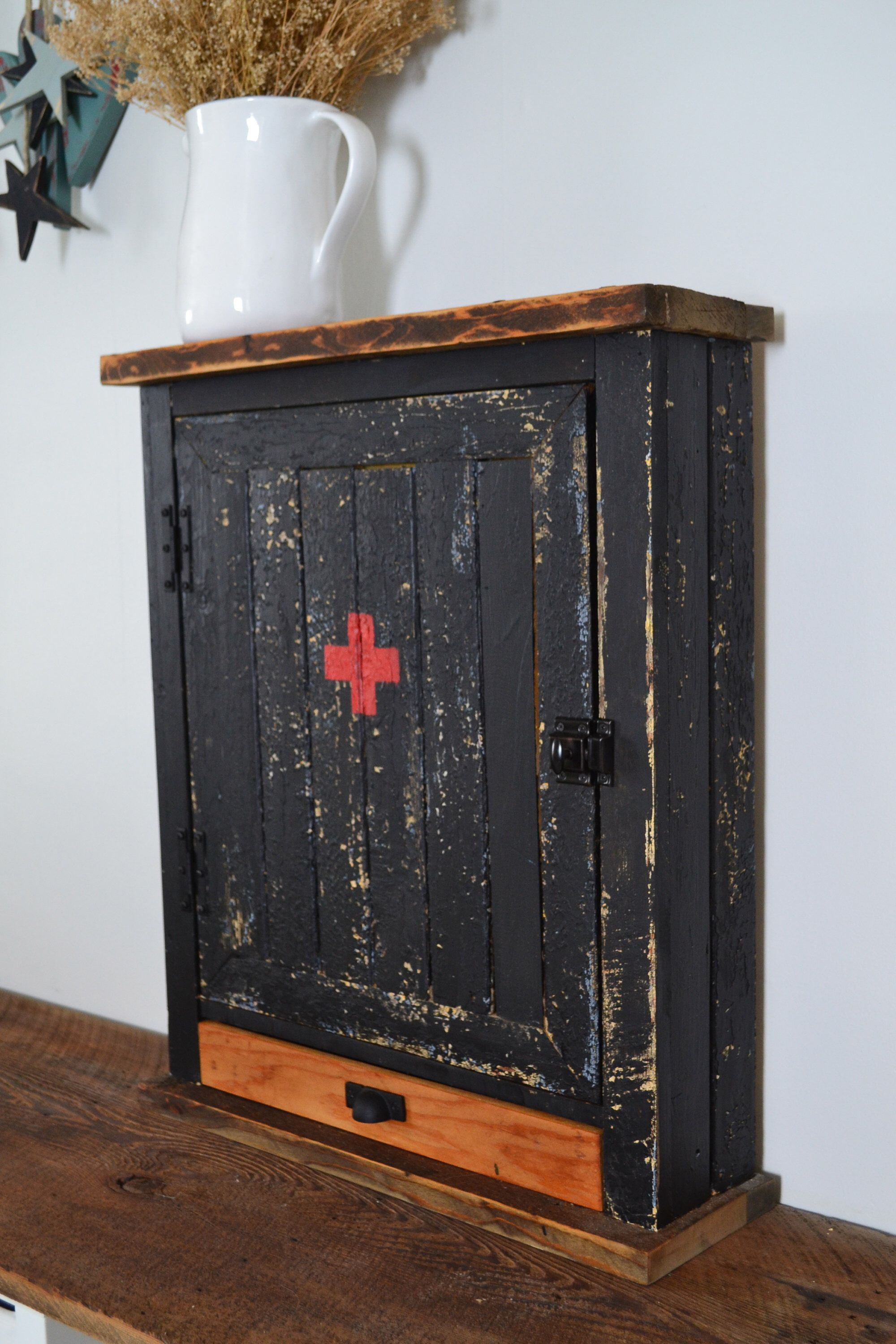 charming Medicine Cabinet Etsy Part - 20: Excited to share the latest addition to my #etsy shop: Medicine Cabinet  with Drawer