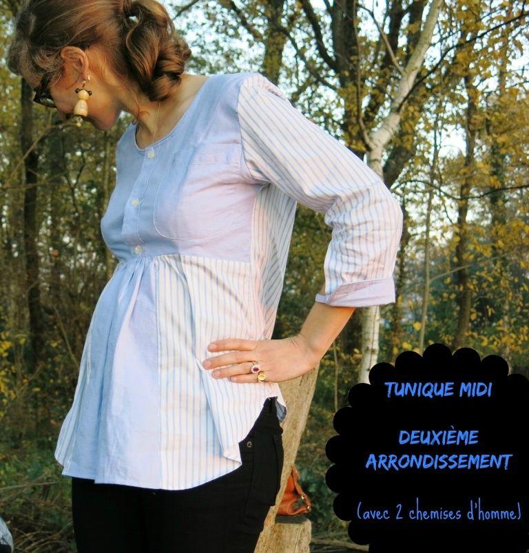 garde robe de grossesse 1 tunique midi en chemise d. Black Bedroom Furniture Sets. Home Design Ideas