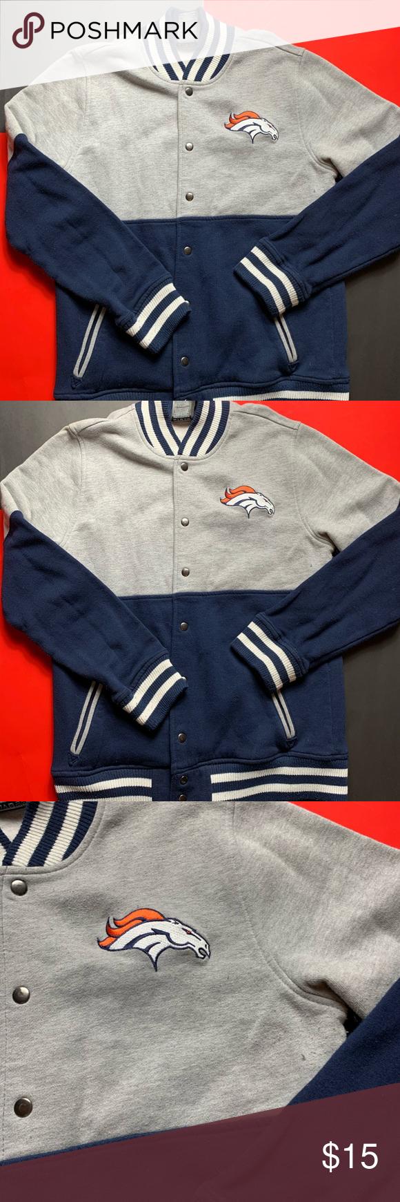 Youth Denver Broncos Varsity Jacket Youth Denver Broncos Varsity Jacket  SIZE S/M NFL Jackets & Coats Blazers #varsityjacketoutfit