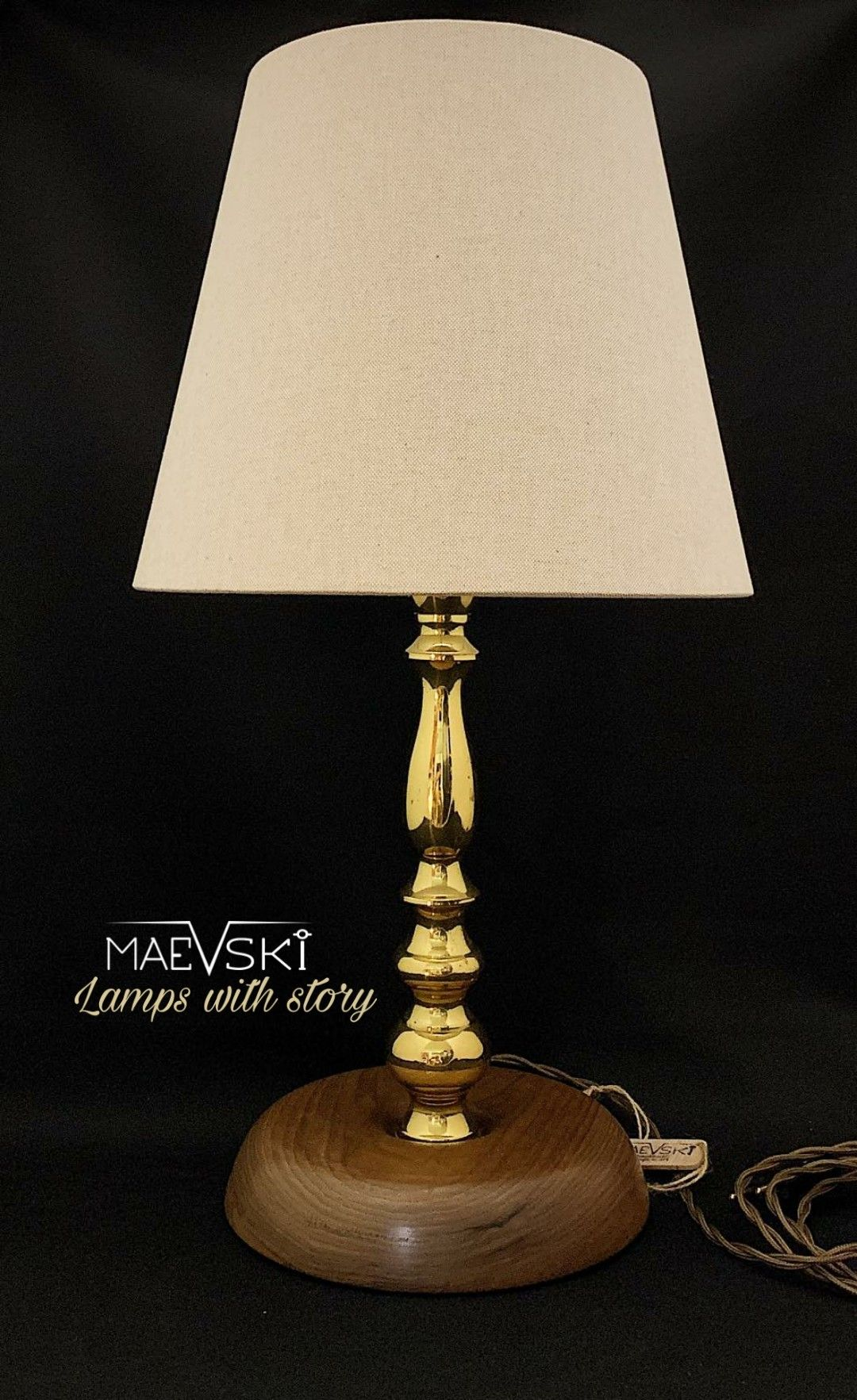 Schlafzimmer Lampe Petrol Designer Lamp, Table Lamp, Brass Lamp, Home Decor Accent | Lampe, Lampendesign