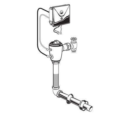 American Standard Concealed 1.28 GPF M-AC Flush Valve