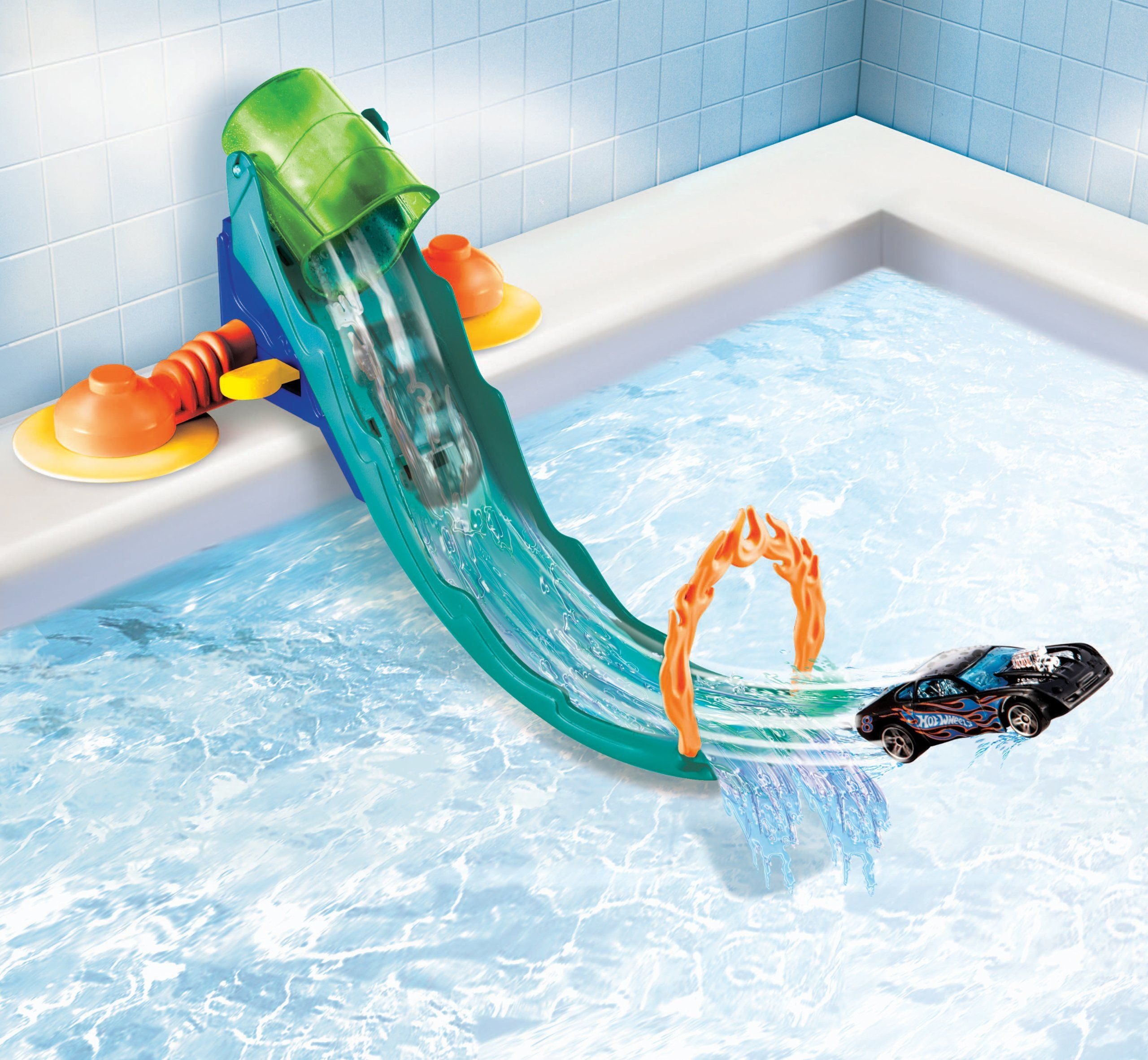 Amazon.com: Hot Wheels Fun In The Tub Playset: Toys & Games | Gift ...