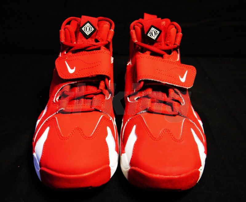 Nike Nike Air DT Max '96 GS Youth Deion Sanders Red White 616502 600