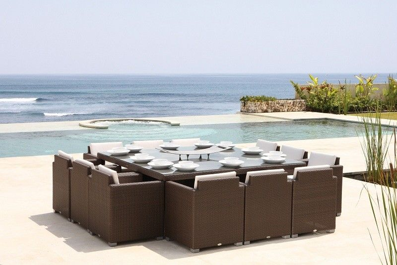 Pacific Dining Set 12 Seater
