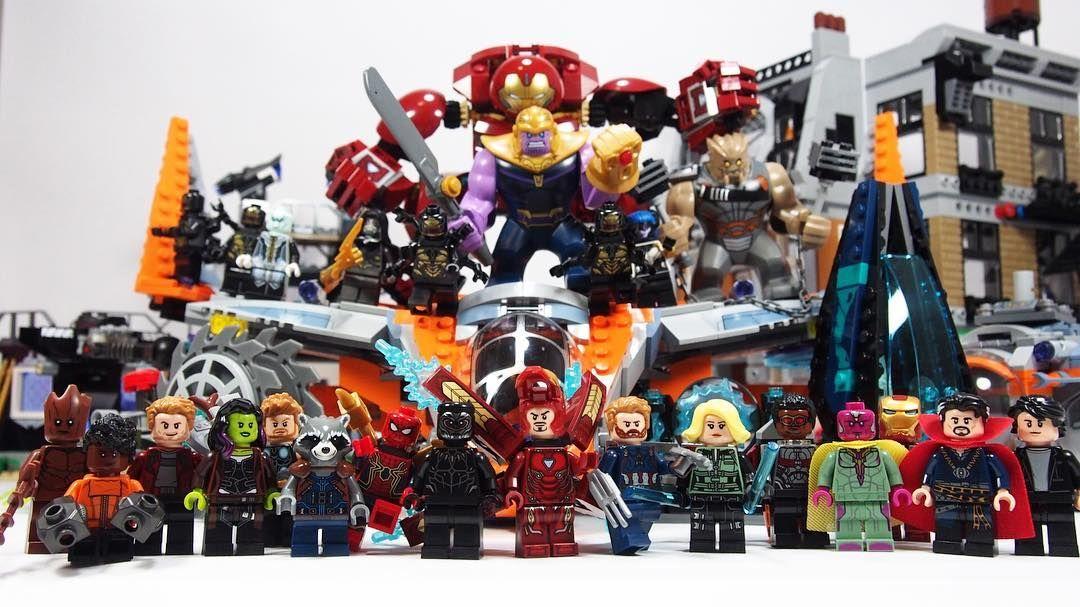 Lego Avengers Infinity War all set and minifigures YouTube