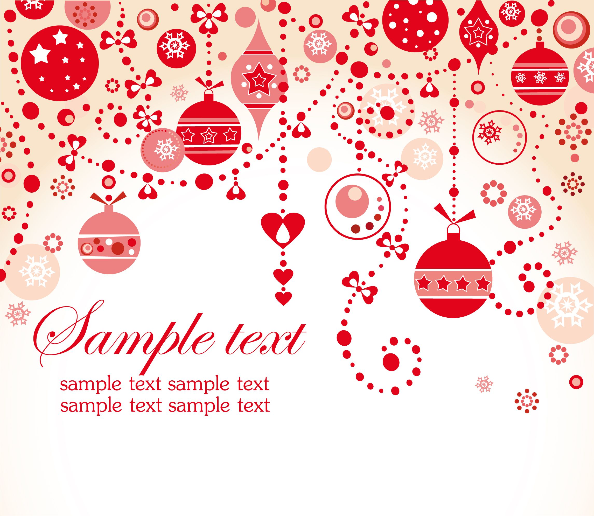 Free Vector Christmas Backgrounds | free-vector-beautiful-christmas ...