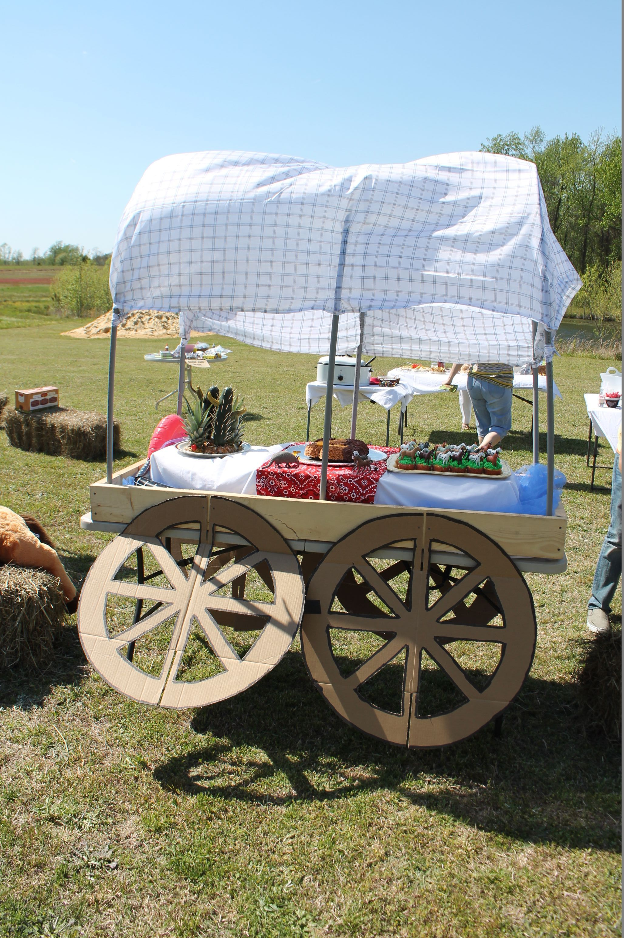 Chuck Wagon Make Rolling Cart - Year of Clean Water