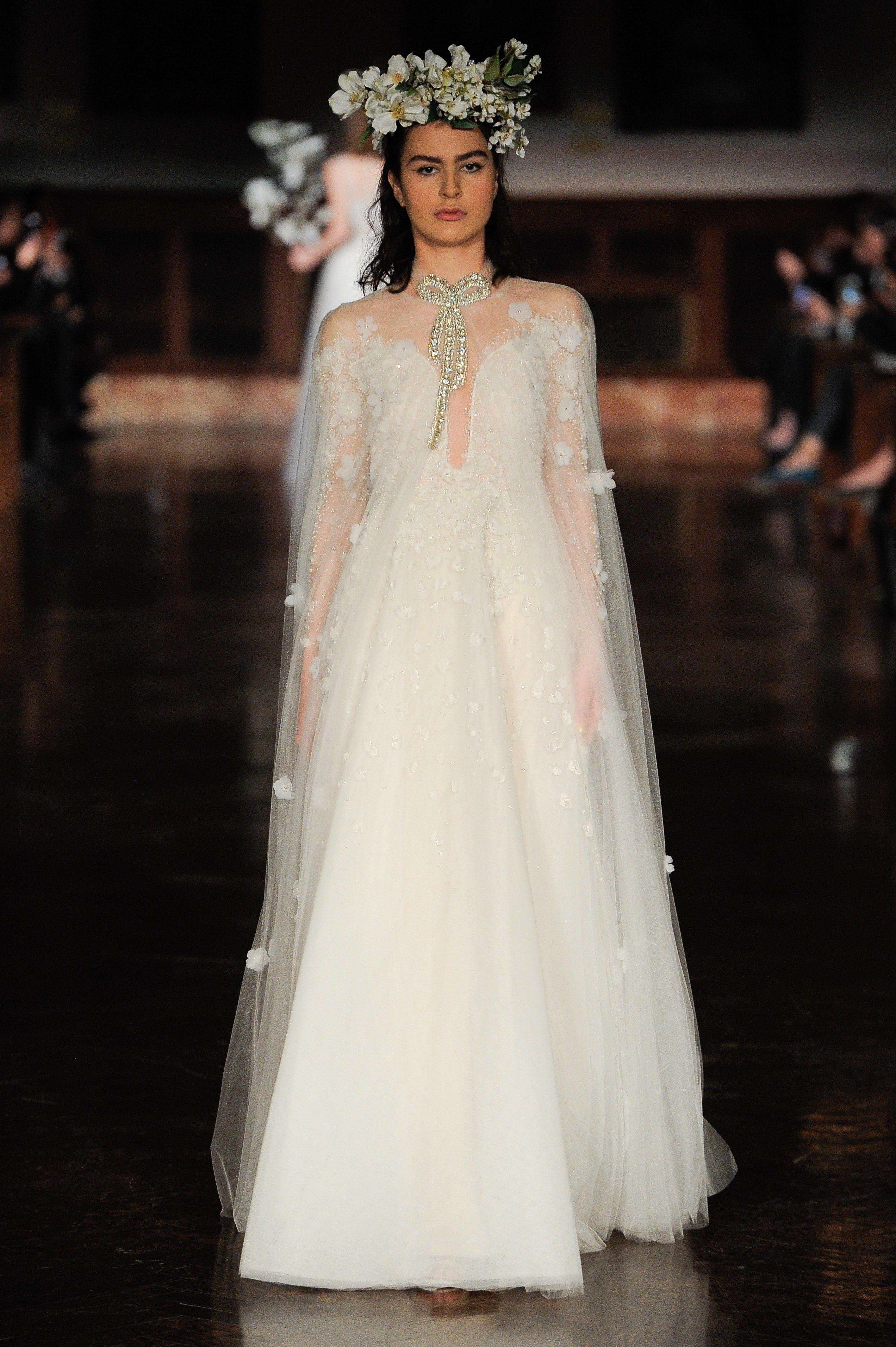 88c9bb51a7fd Reem Acra Spring 2019 Bridal New York Collection - Vogue