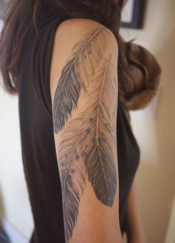 12 Kreative Tattoo Ideen Fur Die Oberarme Ganzarm Tattoos