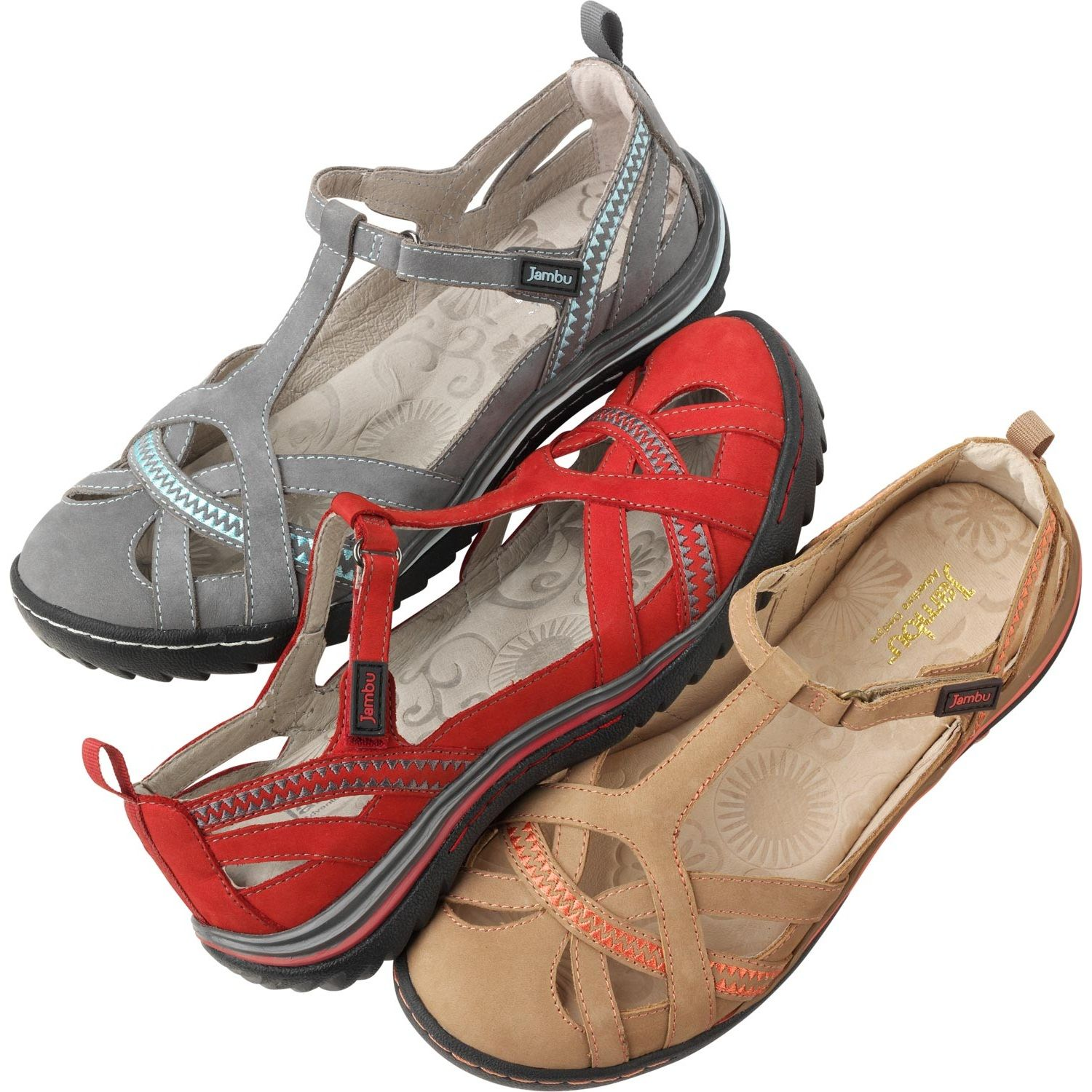 Womens sandals with arch support - Part Breezy Sandal Part Supportive Shoe The Women S Jambu Charley Sandal Gives You The