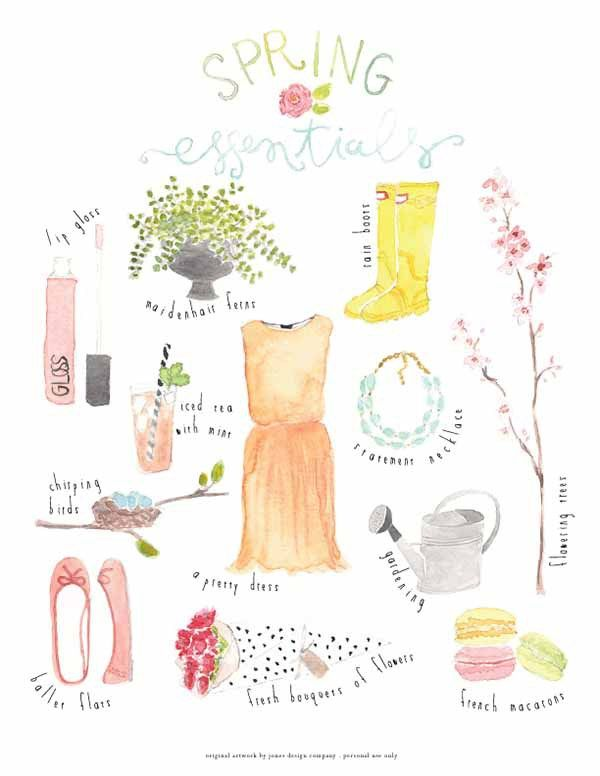 20 fabulous free spring printables pinterest watercolor