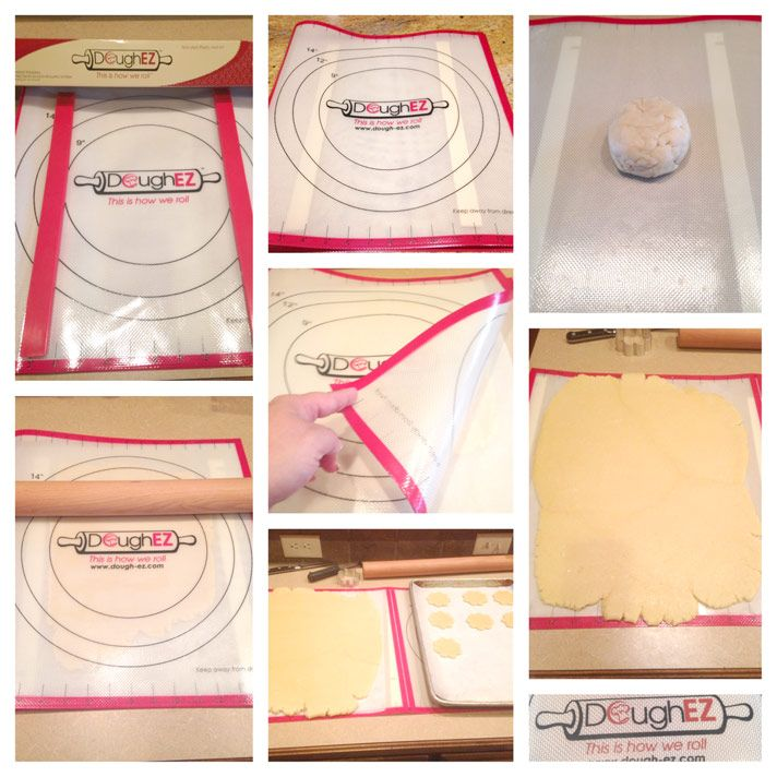 Shop Dough Ez Dough Rolling Mat With Guide Sticks It S The Faster Easier Cleane Bakery Cookies Recipe Bakery Sugar Cookies Recipe Decorated Cookies Tutorial
