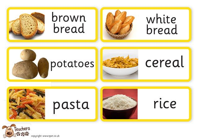 Which Food Groups Are High In Carbohydrates