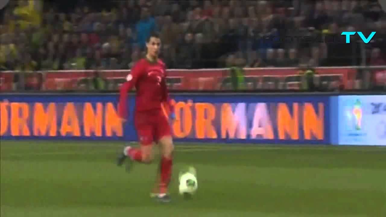 Portuguese commentary on Cristiano Ronaldo's hat-trick is EPIC! Sweden 2...