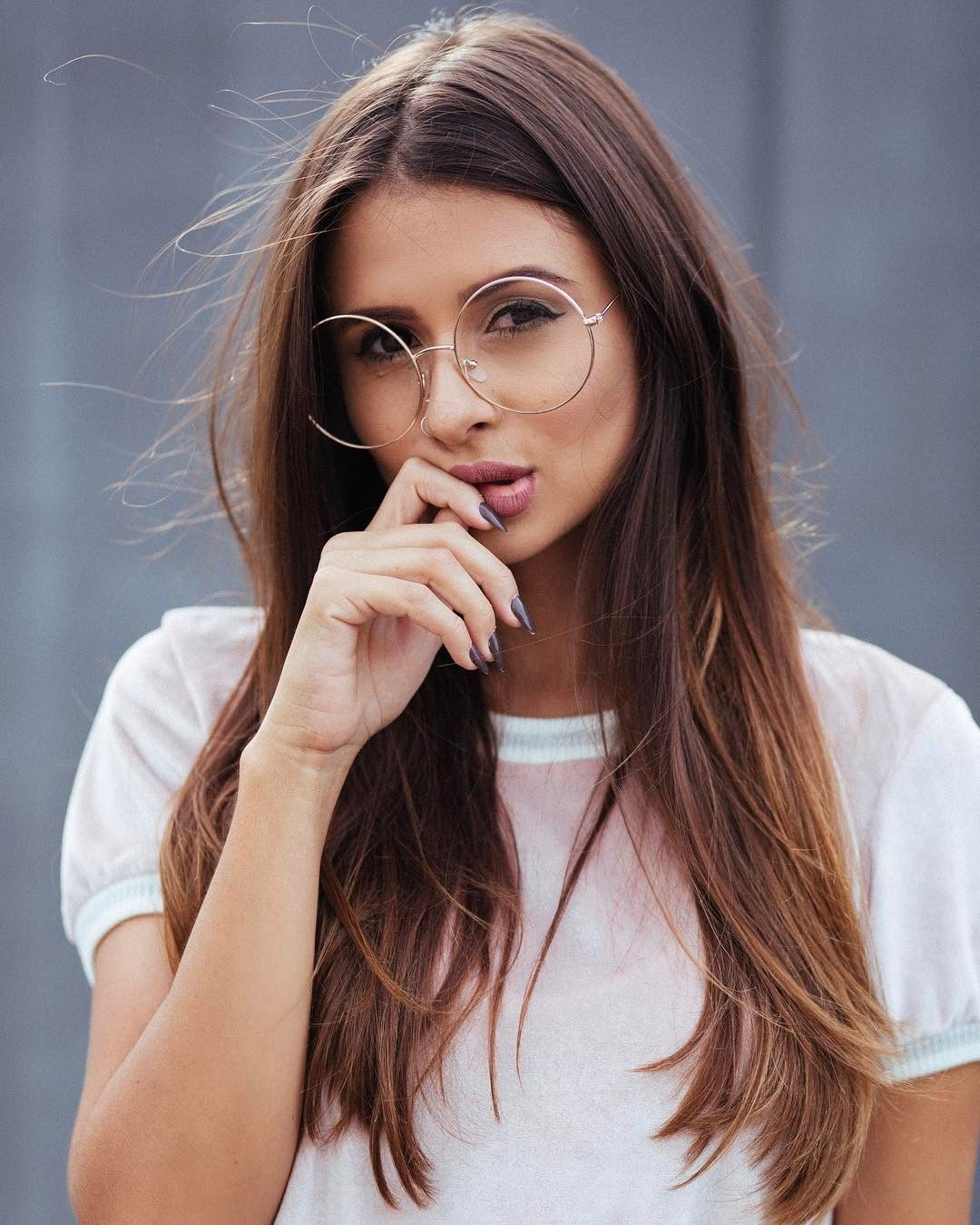 9449e110c0c Óculos redondo. Instagram: @viihrocha | Nice glasses | Óculos de ...