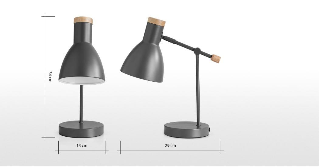 Cohen Bedside Table Lamp, White | Bedside table lamps