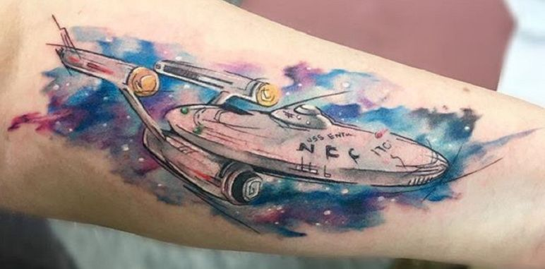 Image by steve lussier on tatoo star trek tattoo star