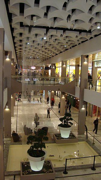 photo du centre commercial parly 2