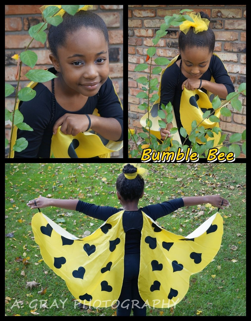 how to make a bumble costume