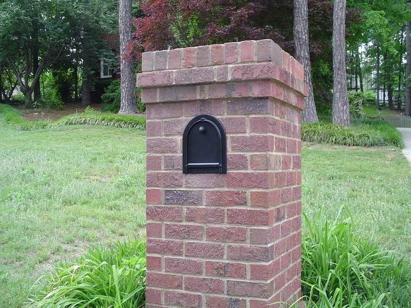 unique brick mailboxes
