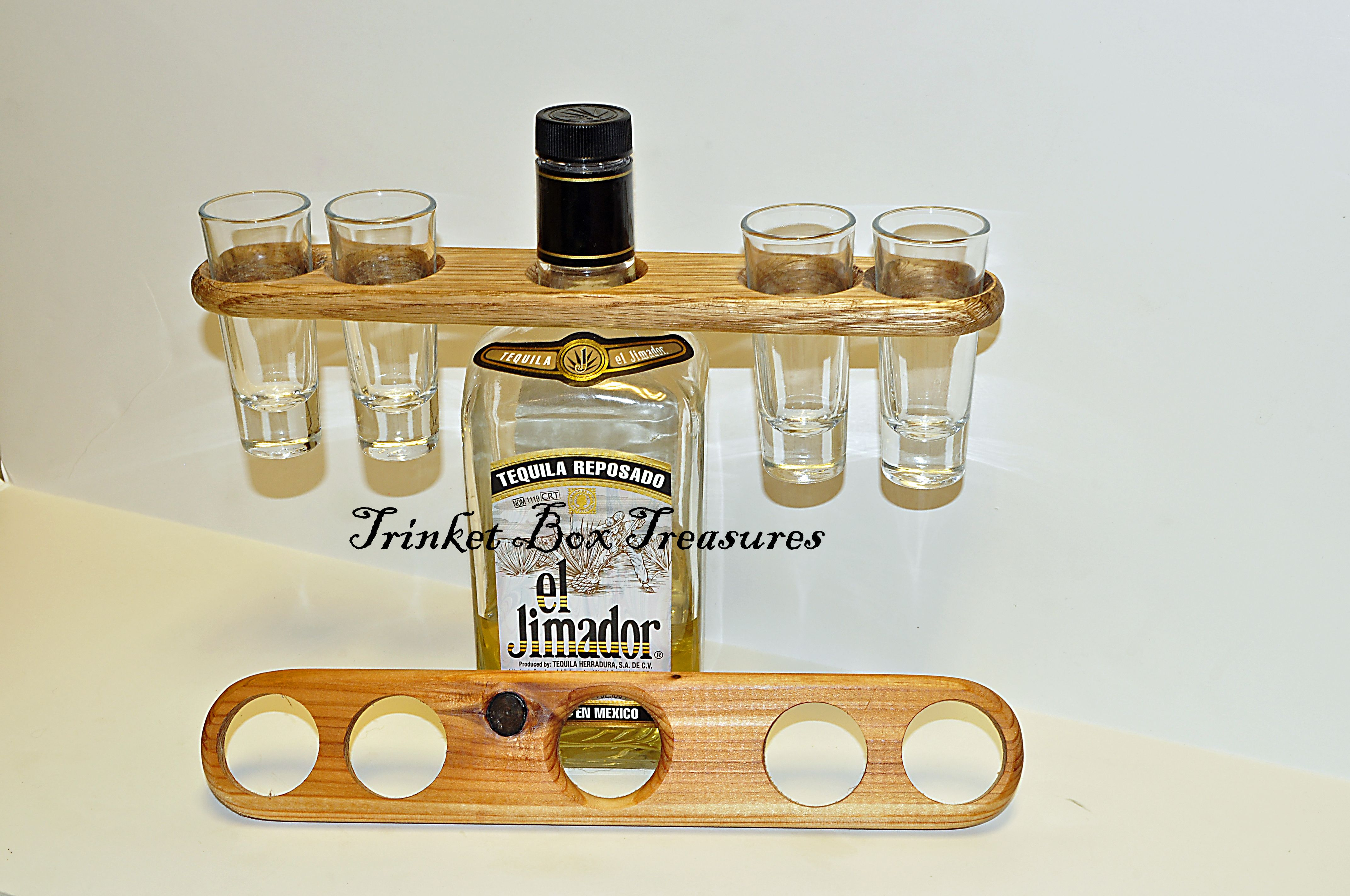 Another Shot Glass Holder This One Holds 4 Shot Glasses Https
