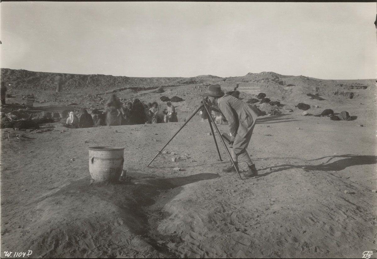 Uruk/Warka Excavation in 1929/30 © Deutsches Archäologisches Institut, Orient Abteilung