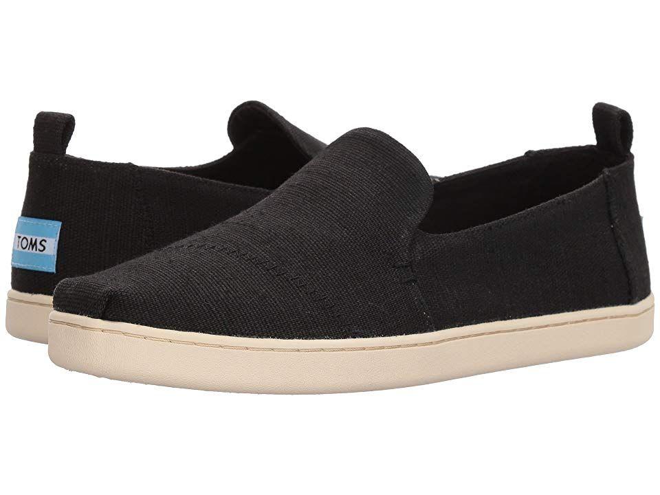 Slip on Shoes Black Heritage Canvas